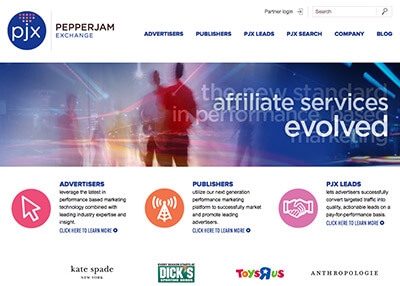 Versa Marketing Affiliate Program Management Network - PepperJam