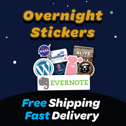 Overnight Stickers, Affiliate Marketing Company